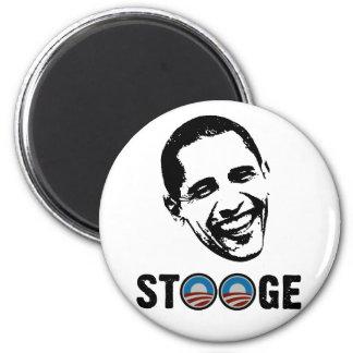Obama = Stooge 6 Cm Round Magnet