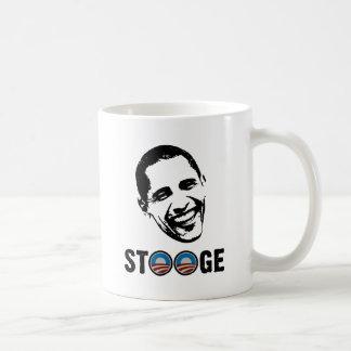Obama = Stooge Basic White Mug