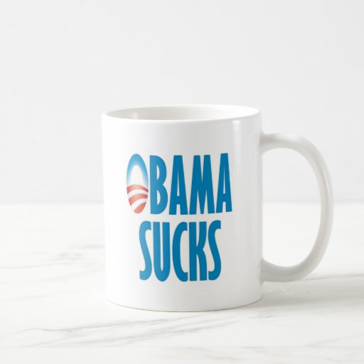 Obama Sucks Classic White Coffee Mug