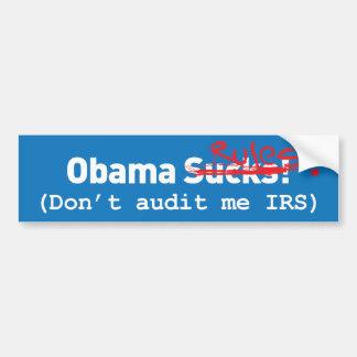 Obama Sucks! err.. Rules! Bumper Sticker