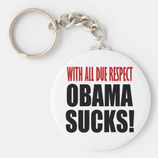 Obama Sucks Key Chain
