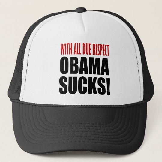 Obama Sucks Trucker Hat