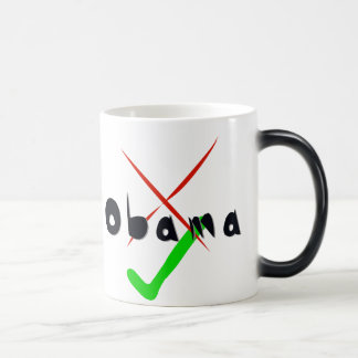 Obama Support - Cross and tick Coffee Mugs