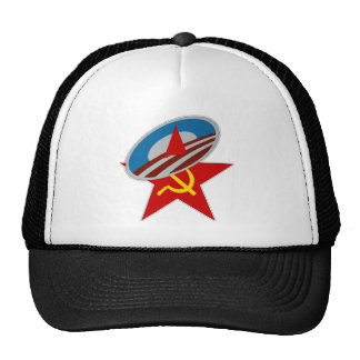 Obama Symbol Socialist Star Cap