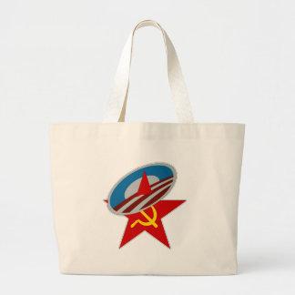 Obama Symbol Socialist Star Jumbo Tote Bag