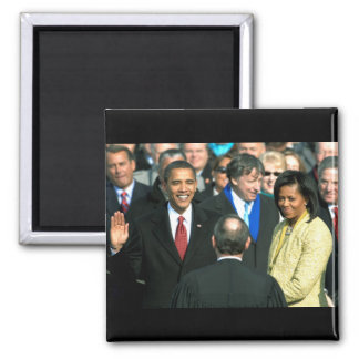 obama taking oath magnet