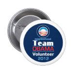 Obama TEAM 6 Cm Round Badge