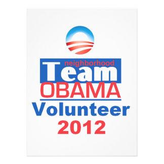 Obama TEAM Personalized Invite