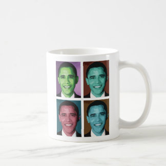 Obama Technicolor Mug