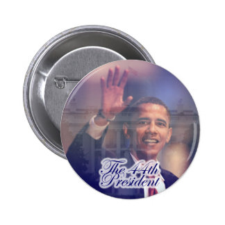 Obama: The 44th President Button