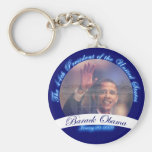 Obama: The 44th President Inauguration Keychain