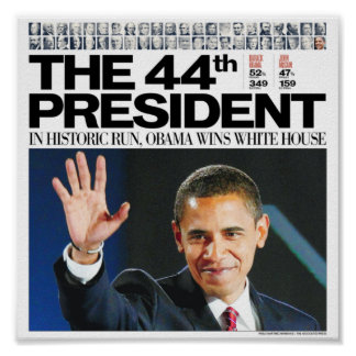 Obama: The 44th President Poster