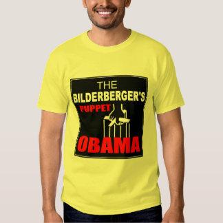 Obama - The Bilderberger's Puppet T Shirts