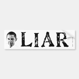 Obama the Liar Bumper Sticker