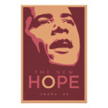 OBAMA: The New Hope_Magenta Posters