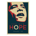 OBAMA: The New Hope_Red Blue Poster