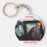 Obama - The Real Terminator Key Chain