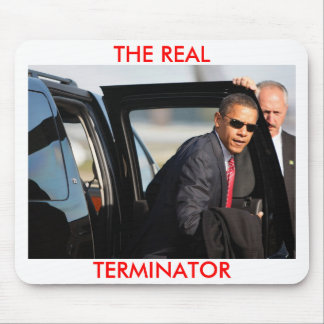 Obama - The Real Terminator Mouse Mat
