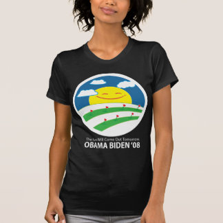 Obama, the sun will come out T-Shirt - Customized