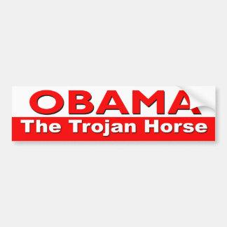 Obama The Trojan Horse Bumper Sticker