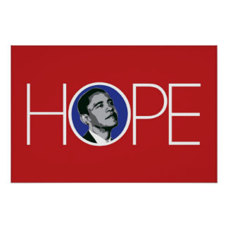 Obama: There is Hope Poster