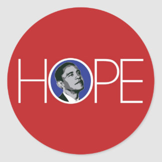 Obama There is Hope Sticker