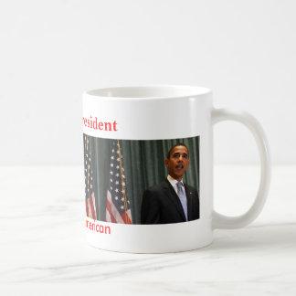 Obama Titusville, Obama, First African-American... Basic White Mug