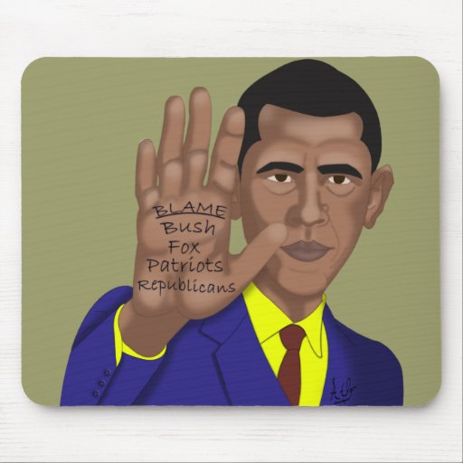 Obama Trades in Teleprompter Mousepads