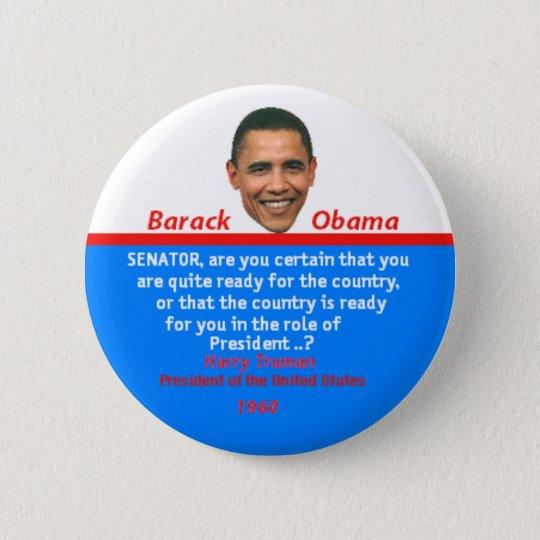 Obama TRUMAN Button