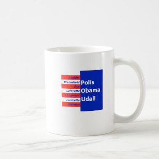 Obama Udall Boulder Mug