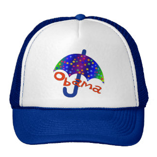 Obama Umbrella Inaguration Memento Cap