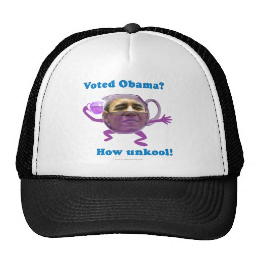 Obama unkool mesh hats
