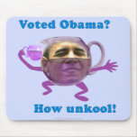 Obama unkool mouse pads