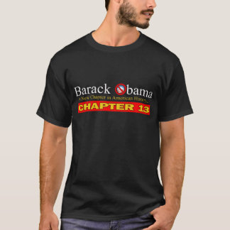 Obama - US Bankruptcy T-Shirt