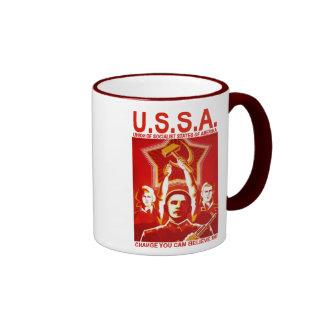 Obama USSA Coffee Mugs