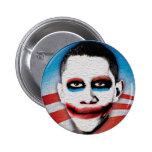 Obama = Very Scary 6 Cm Round Badge