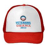 Obama Vets 2012 Hat