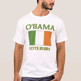 Obama vote Irish t shirts