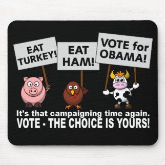 Obama Vote mousepad
