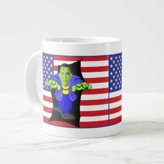 Obama vs America Giant Coffee Mug