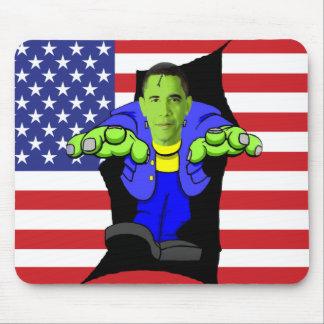 Obama vs America Mouse Pad