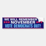 OBAMA - WE WILL REMEMBER IN NOVEMBER