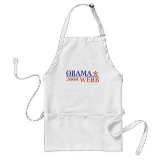 Obama Webb 08 Standard Apron