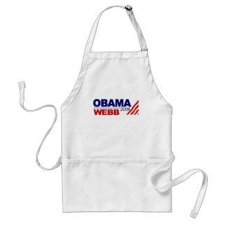Obama Webb 2008 Standard Apron