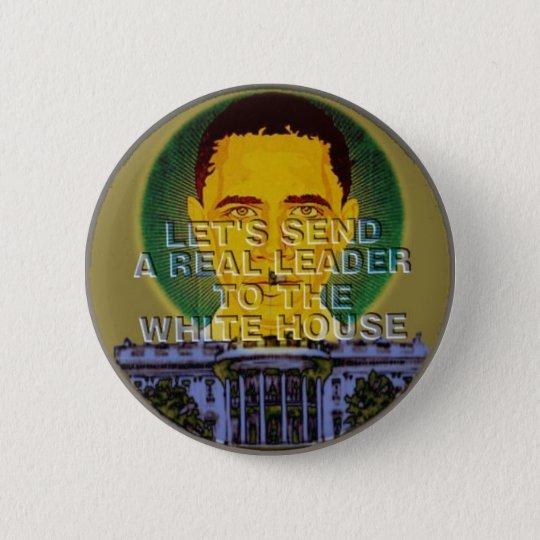 Obama White House Button