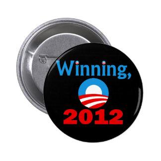 Obama Winning, 2012 Pins