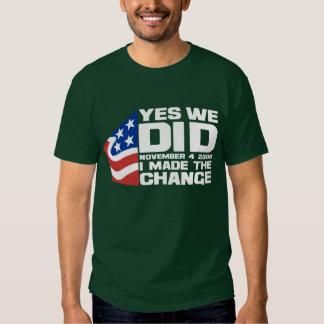 Obama Wins! Shirts