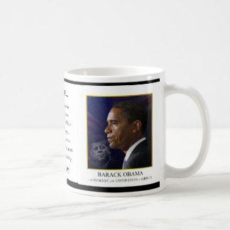 Obama with JFK - Coffee Mug
