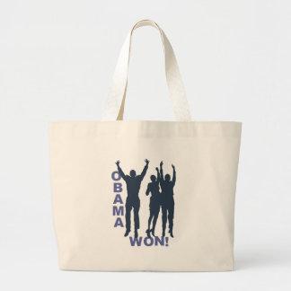 Obama Won Tote Bags