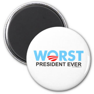 Obama WorstEver Magnet